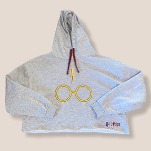 Harry Potter Cropped Hoodie
